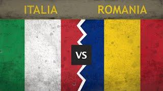 ITALIA vs ROMANIA Le forze militari in campo il confronto 2018