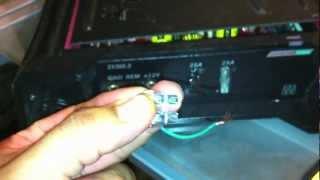 blue wire remote wire install