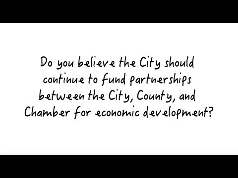 City/County/Chamber Funding Partnership - Lawrence City Commission Candidates