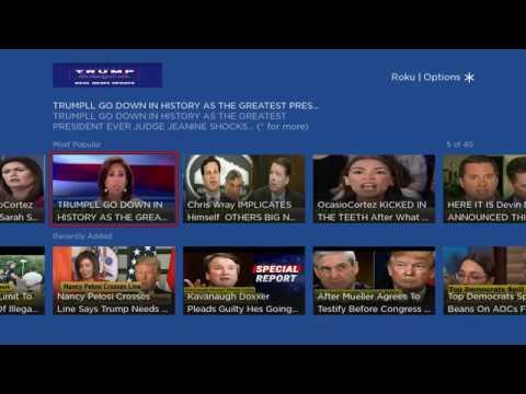 Trump TV On Roku
