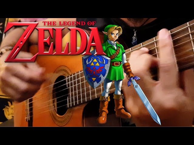 The Legend of Zelda (Koji Kondo) | Classical Guitar | Luciano Renan