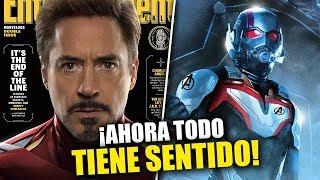 ¡AHORA TODO TIENE SENTIDO! Avengers: Endgame revela oficialmente 5 secretos