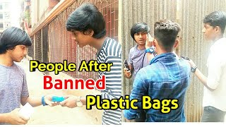 People After Banned Plastic Bags || Funny Video || Plastic Bags Ban || Avi Sahani AS