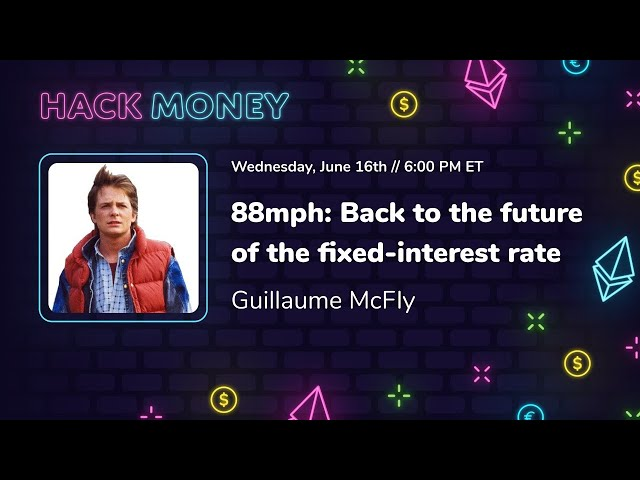 88mph: Back to the future of the fixed-interest rate