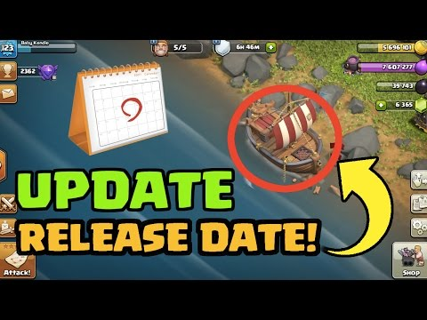 Clash of Clans Update RELEASE DATE REVEALED! Official Supercell Post