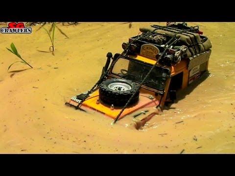 Offroad Adventures at Tampines Quarry - 16 trucks mudding swimming at Devil's Backbone