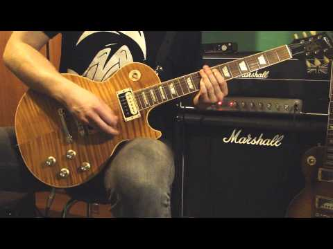 Slash – Bad Rain feat. Myles Kennedy (FULL guitar cover) HD