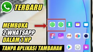 Cara Membuka 2 WhatsApp Dalam 1 HP Tanpa Aplikasi Tambahan