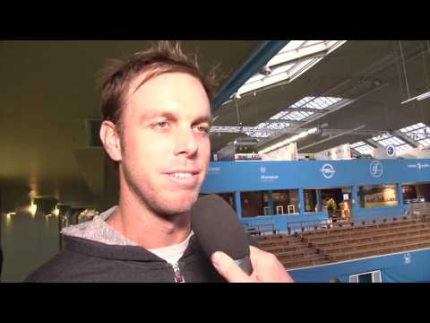 Sam Querrey at the If Stockholm Open