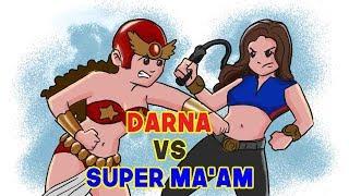 Super Maam vs Darna Hi po. Sana po Magustuhan nyo ang Video ko. Gus...