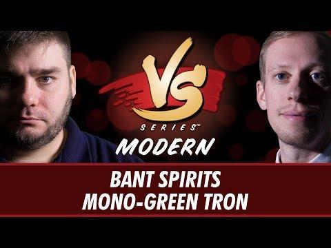 07/26/2018 - Anderson VS Stevens: Bant Spirits VS Mono-Green Tron [Modern]