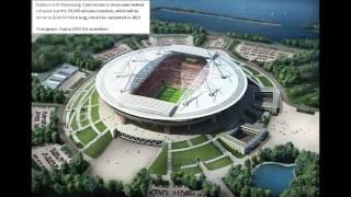 FIFA World Cup 2018 Stadium in Russia.