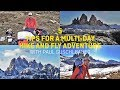 5 Tips for a Multi-Day Hike & Fly Adventure with Paul Guschlbauer
