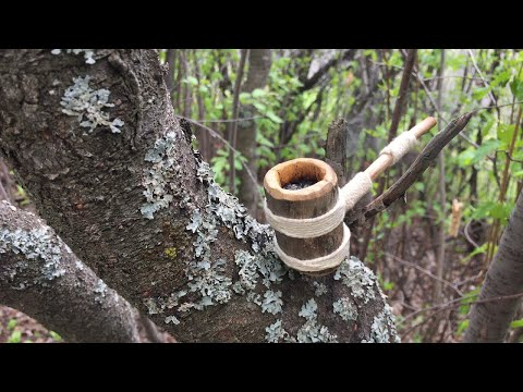 Making a Simple Wood Pipe - Easy Woodcarving Project