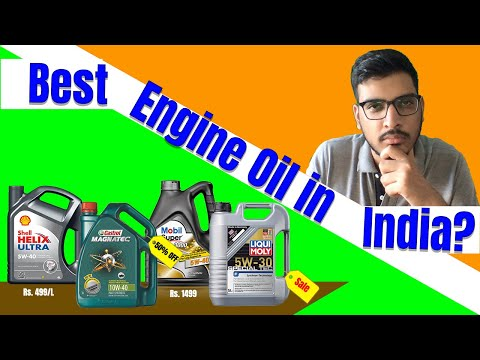 BEST ENGINE OIL IN INDIA ? - 3 Best Engine Oil For Cars, Bikes & Scooters!