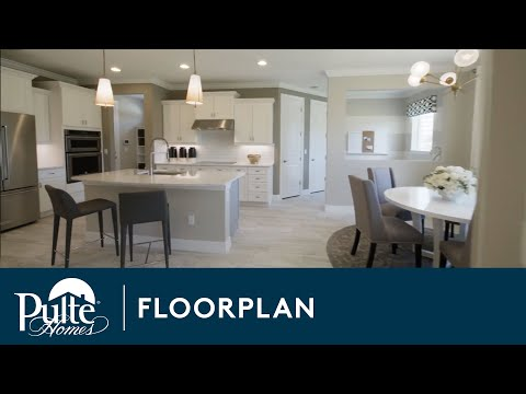 New Homes by Pulte Homes – Riverwalk Floor Plan - YouTube