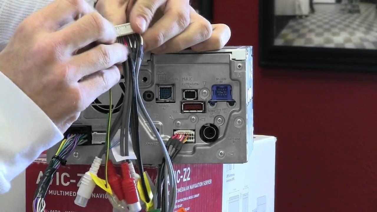 pioneer avic z1 z2 z3 bypass youtube pioneer avic d3 installation manual pioneer avic z2 wiring diagram [ 1280 x 720 Pixel ]