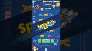 【プレイ動画】Merge Plane - Best Idle Game