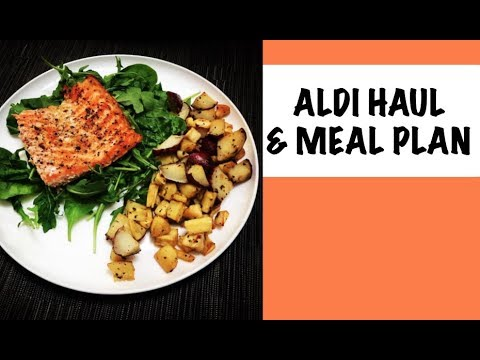 ALDI HAUL & MEAL PLAN | Sept 30 2018