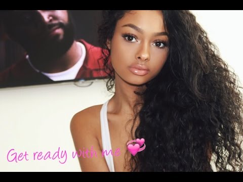 Get ready with me hair and makeup! | JaydePierce