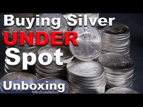 How I buy silver bullion BELOW spot price!