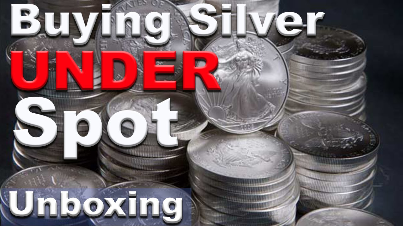 Silver Bullion Below Spot Price