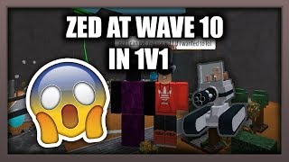 How To Get ZED WAVE 10! | Tower Battles | ROBLOX |