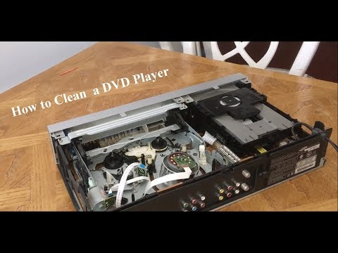 How to Clean The Laser Eye of a DVD Player
