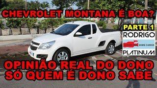 Chevrolet Montana É Boa? Opinião Real do Dono Detalhes e Equipamentos Parte 1 BoA 検索動画 11