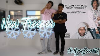 THE BEST WAY TO DANCE TO NEW FREEZER❄!!! @RichTheKid