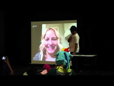 Cantermare University: Andrea Libman Skype Call (Pinkie Pie & Fluttershy)