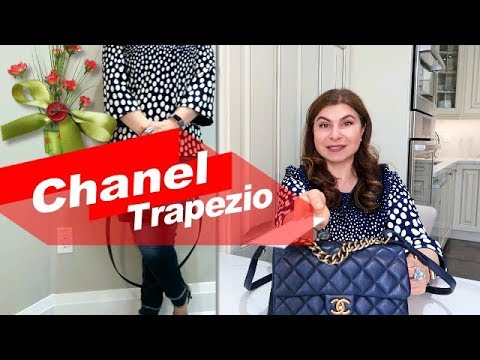 fc6eed2d4628 Chanel Trapezio Flap Bag Unboxing and Mod Shots| Yoogi's Closet |Oxana LV