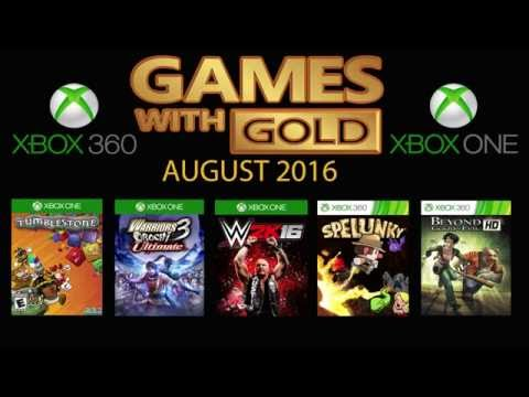 Games With Gold August 2016 - Xbox 360 - Xbox One