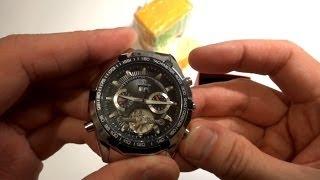 Механические китайские часы с AliExpress(Китайские часы, механические с датой, месяцем и днями недели. Продавец: https://goo.gl/KUDN67 ➤ Скидки до 20% при заказа..., 2014-04-02T06:41:35.000Z)