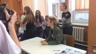 """Автограф-сессия с Крисом 4 на мастер-классе """"Танцуй с Крисом"""" в Москве"""