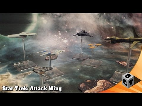 Attack Wing Battlereport - Star Fleet vs. Romulan Empire