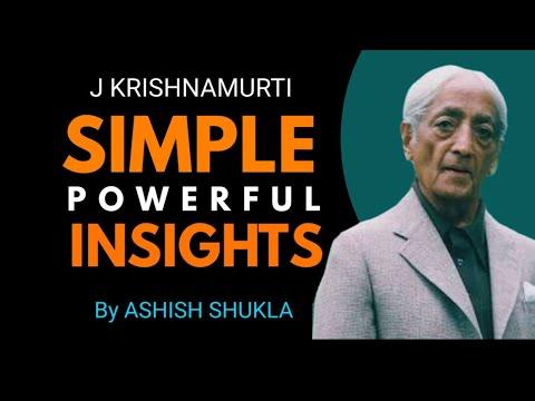 Top 10 lessons from J Krishnamurti | J krishnamurti Teachings in hindi | Ashish Shukla |