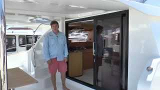 Fountaine Pajot Walkthrough w/ Power Catamaran Expert Wiley Sharp