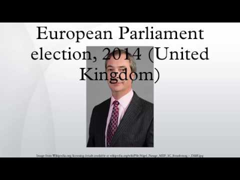 European Parliament election, 2014 (United Kingdom)