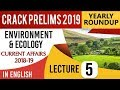 Environment and Ecology 2018-19 Current Affairs Set 5 for UPSC CSE Prelims 2019 in English