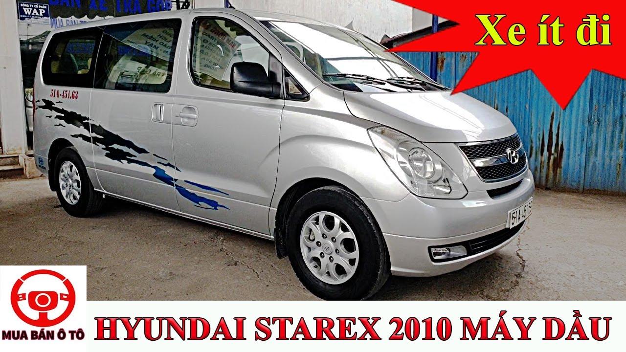 Bán Starex 9 chỗ ghế xoay máy dầu 2.5MT đời 2010 xe đi ít giá tốt | Mua bán ô tô