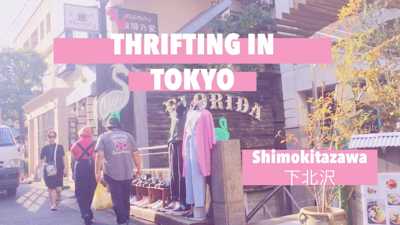 3bca76f59ddb8 BEST THRIFT STORES IN TOKYO - YouTube