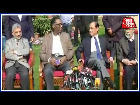 Exclusive: Supreme Court Judges' LIVE Press Conference