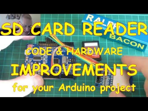 #22 Using an SD card to log data - and how to improve the reliability!