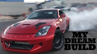 350Z IS COMPLETE! Painted, Widebody & Boosted!!!