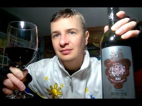Filipino Wine Tasting - Saint Ambrose Bignay Wine