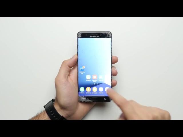 Galaxy Note 7 vs iPhone 6S Испытание На Падение!