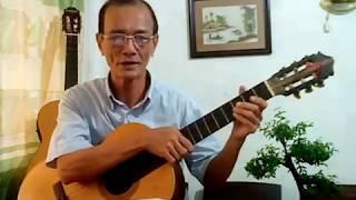 Ngôi sao ban chiều - Đệm hát guitar