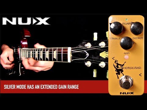 NUX's Horseman combines both Gold and Silver Klons in one $69 mini pedal | Guitarworld