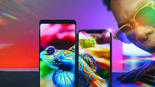 iPhone X Display vs Samsung Note 8 Display: Only One KING!